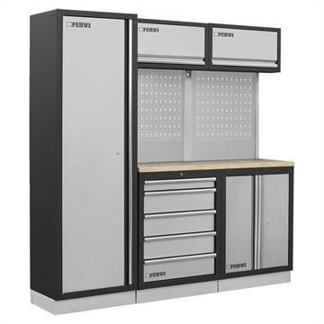 Cassettiere Metalliche Per Officina Prezzi.Mobili Da Officina Arredamento Carrelli E Serie Di Utensili