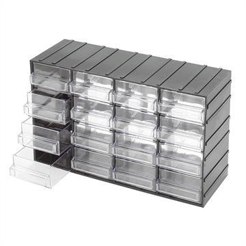 Cassettiere In Plastica Per Minuterie.Contenitori In Plastica Arredamento Carrelli E Serie Di Utensili