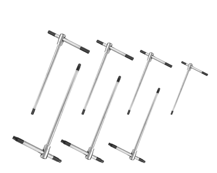 Male T Handle Hex Wrench Set 0400 Hex Keys