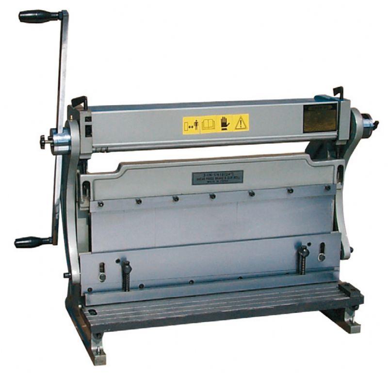 Calandra cesoia piegatrice 0772 600 macchine per for Mini pressa idraulica