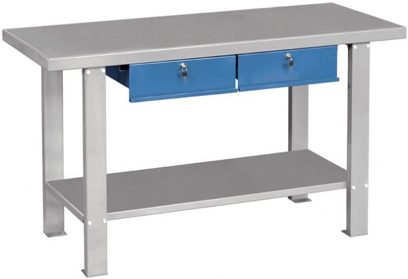 Banco da lavoro in ferro in kit di montaggio b015 - Banco da lavoro ikea ...