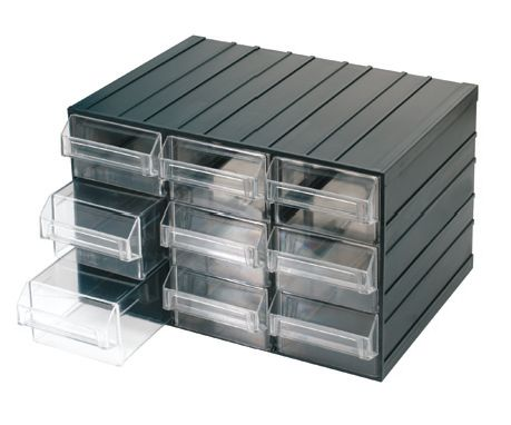 Cajoneras con tiradores de plastico transparentes c080 9 for Cajoneras de plastico