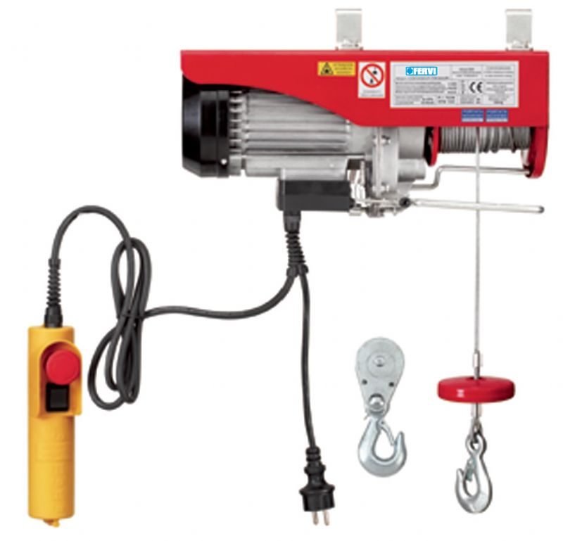Paranco elettrico 0600 paranchi sollevamento e for Paranco elettrico valex