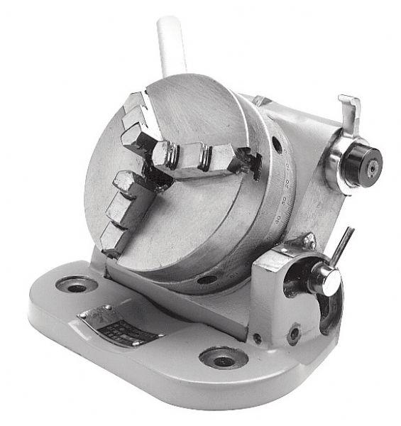 Manual Tilting Rotary Table TAVOLA GIREVOLE BASCULANTE 0° ÷ 90° - T017/110 | Tavole e piani ...