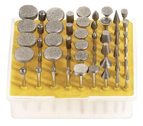 Serie frese rotative diamantate d050 utensili diamantati utensili a fresare materiali di - Frese per piastrelle ...