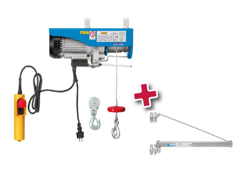 Paranco elettrico supporto a bandiera 0600 0236 for Paranco elettrico con supporto a bandiera