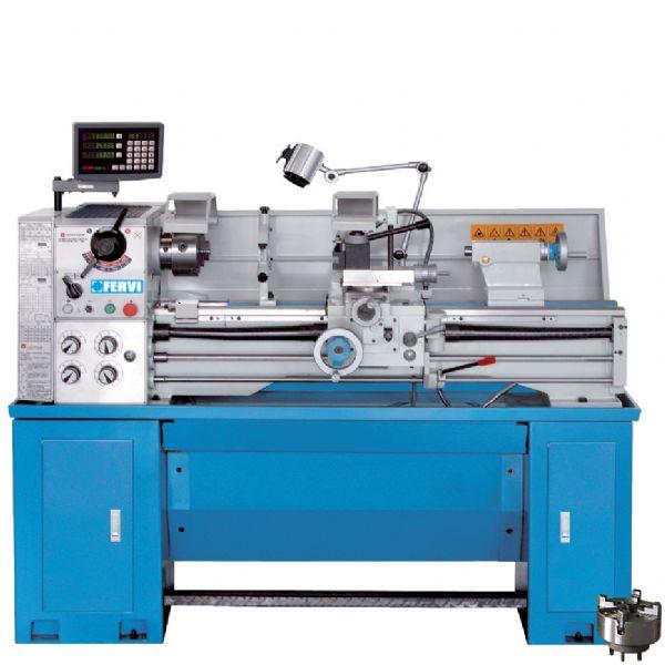 Tornio parallelo t999 230v torni paralleli macchine for Tornio per legno con copiatore usato