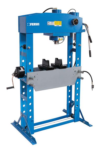 Pressa idraulica manuale e pneumatica p001 75 presse for Mini pressa idraulica