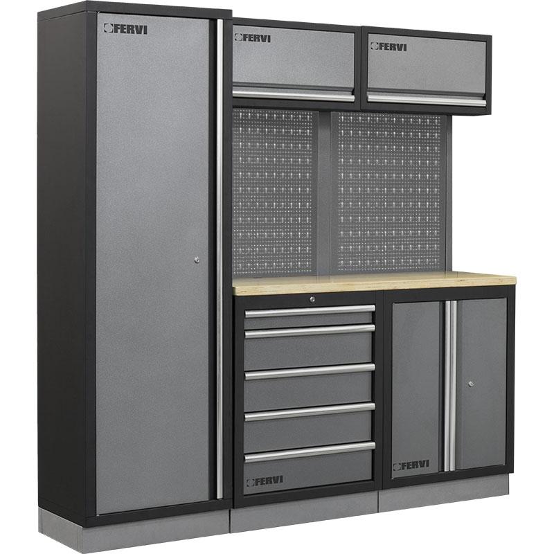 Arredamento modulare per officina a007c mobili da for Arredamento per officina