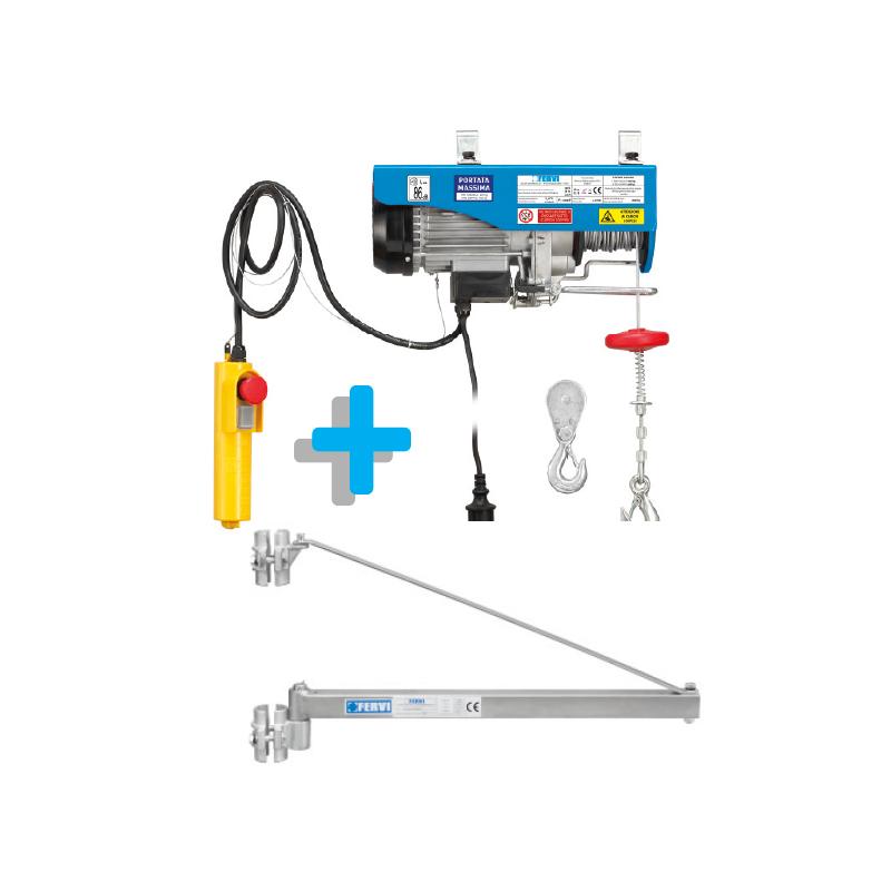 Paranco elettrico supporto a bandiera kit0180 for Bandiera per paranco elettrico