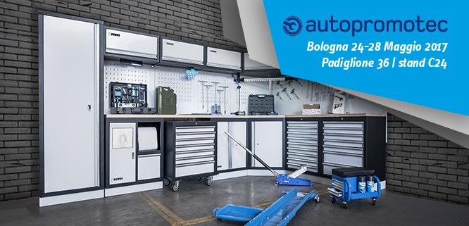 Home fervi pro smart equipment for Arredamento officina meccanica