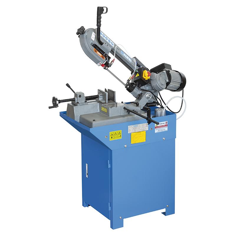 SEGATRICE A NASTRO PER METALLI - 0255  Seghe nastro per ferro  Macchine lavorazioni meccaniche ...