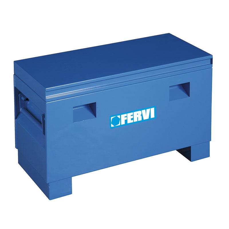 Baule in acciaio 0363 36 bauli arredamento carrelli for Bauli arredamento