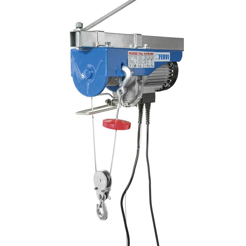 Paranco elettrico 0600 paranchi sollevamento e for Paranco elettrico 1000 kg