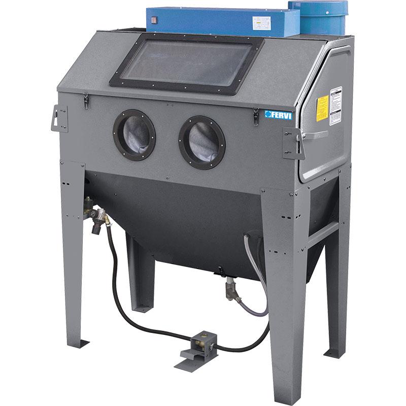 SABBIATRICE CON ASPIRATORE - 0687  Sabbiatrici  Macchine per trattamenti e finiture  Macchine ...