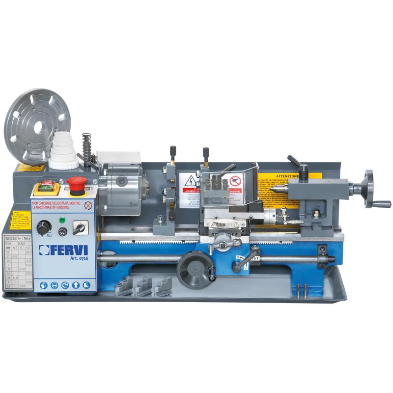 Tornio parallelo 0716 torni paralleli macchine for Mini torni usati