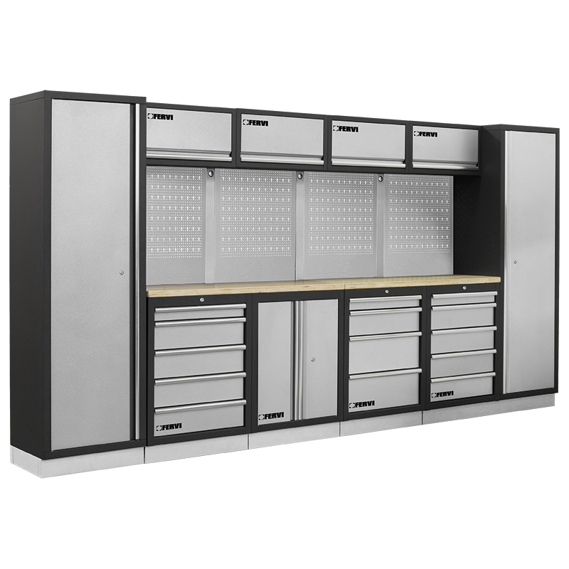 Arredamento modulare per officina a007a mobili da for Arredamento per garage