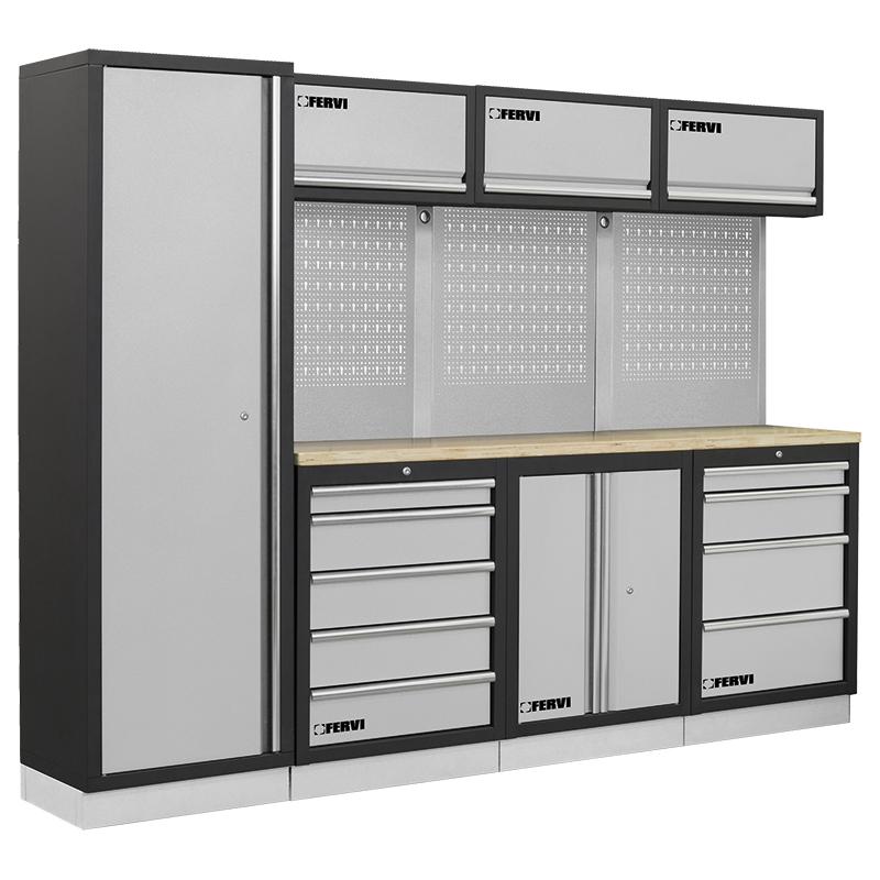 Arredamento modulare per officina a007d mobili da for Piani di garage rv con officina