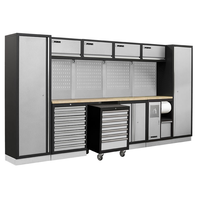 Arredamento modulare per officina a007p mobili da for Mobili officina