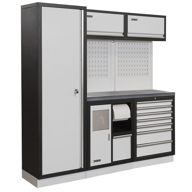 Arredamento modulare per officina a008i mobili da for Mobili officina