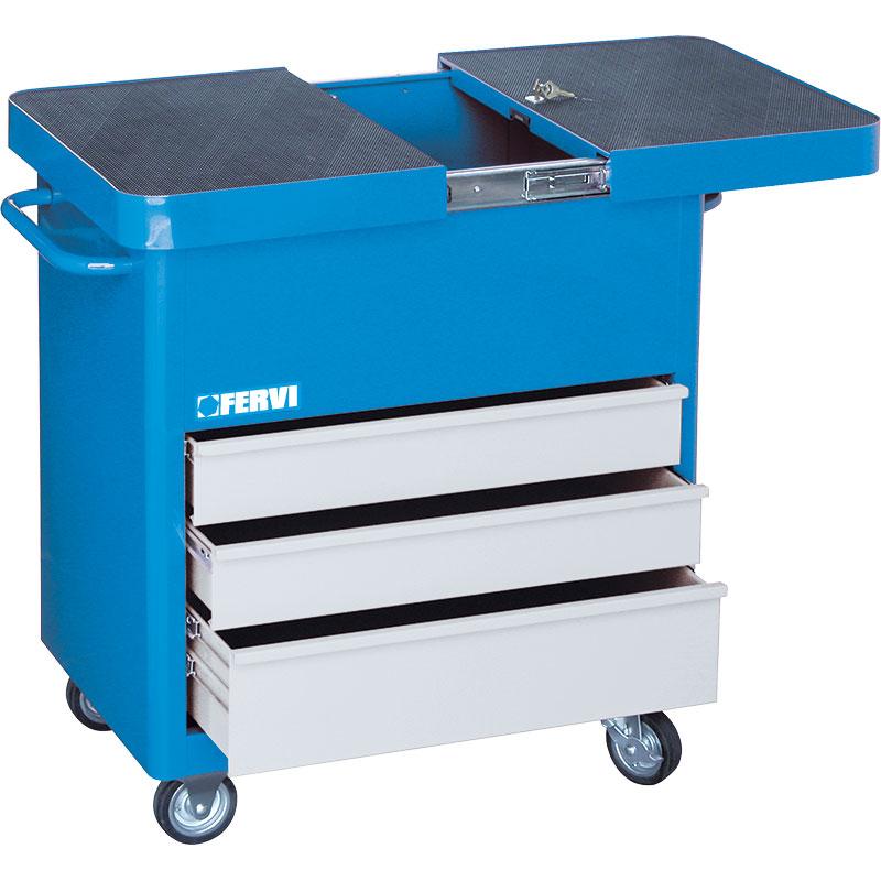 Carrello porta utensili c655 cassettiere carrelli for Carrello portalegna da arredamento
