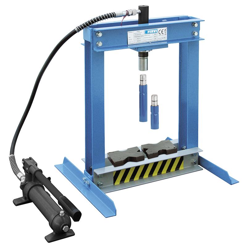 Pressa manuale idraulica p001 04 presse idrauliche for Pressa per tubi idraulici usata