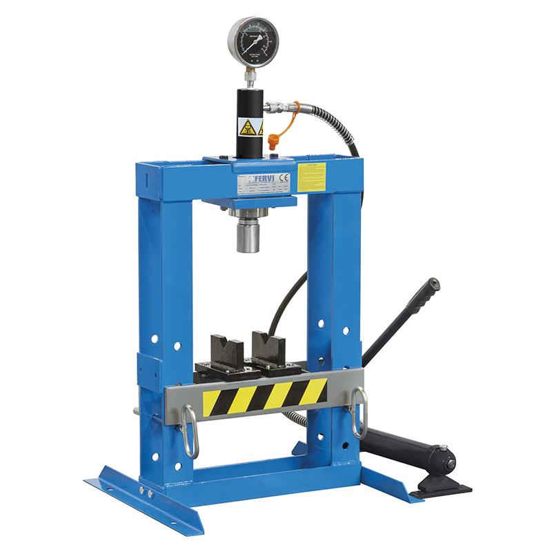 Pressa manuale idraulica p001 10 presse idrauliche for Presse idrauliche usate per officina