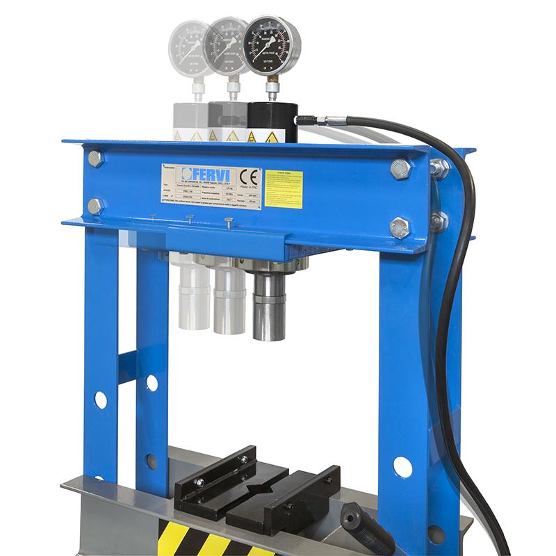 Pressa manuale idraulica p001 30 presse idrauliche for Pressa da banco