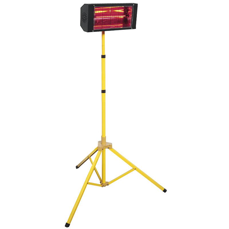 T4W.it - Riscaldatore elettrico a raggi infrarossi con treppiede R610A FERVI