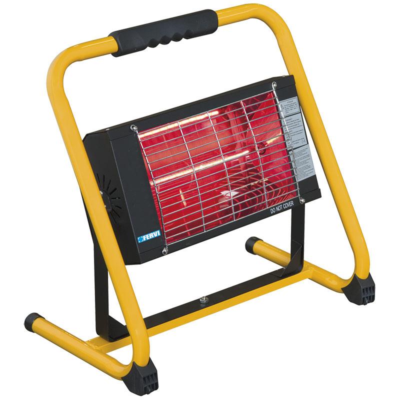 T4W.it - Riscaldatore elettrico a raggi infrarossi con supporto R610B FERVI